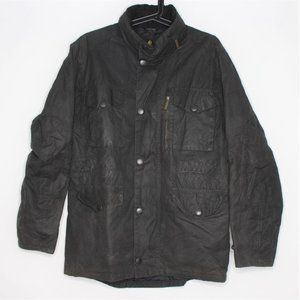 VTG Barbour Sapper Oil Wax Full Zip Jacket H225